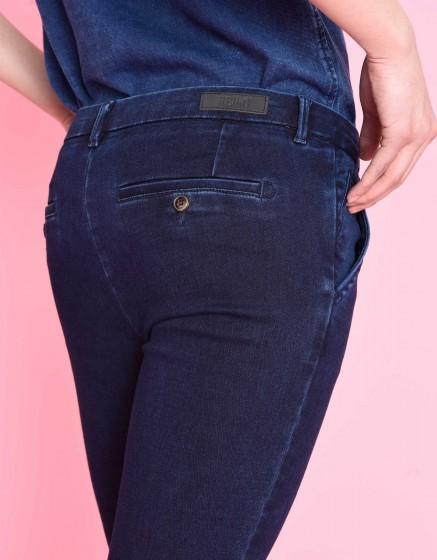 Pantalon chino Sandy Fleece - INDIGO