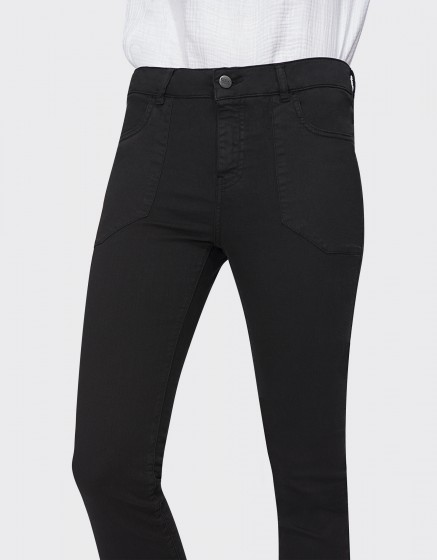 Jean Street Vesper - BLACK DENIM