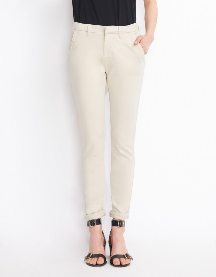 Pantalon chino Sandy Basic 2 - CREAM