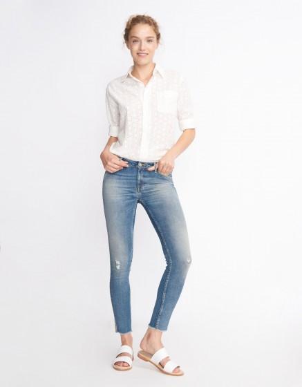 Jean skinny cropped Lily - DENIM HERRING