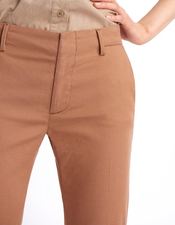 Pantalon cigarette Lizzy Fancy - MOKA
