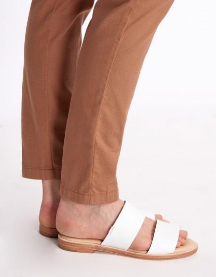 Cigarette Trousers Lizzy Fancy - MOKA