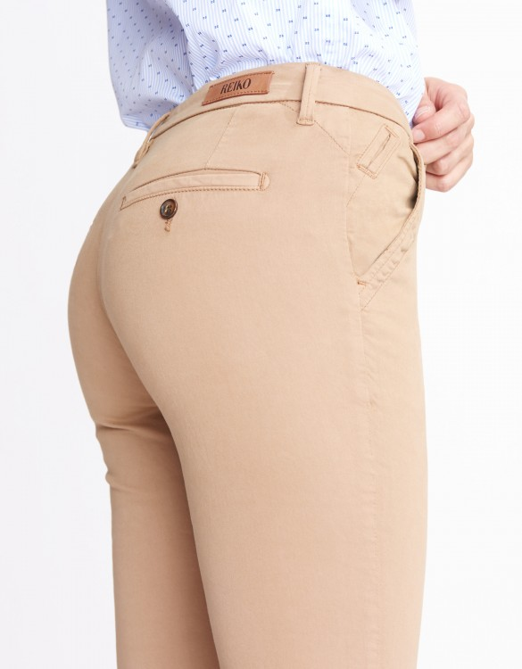 Chino Trousers Sandy Basic 2 - MOKA