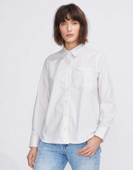 Chemise Carl Pinted - SILVER PALM