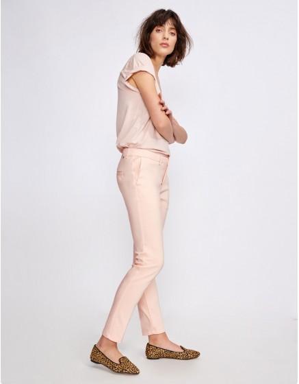 Pantalon Cigarette Lizzy Color - CLOUD PINK