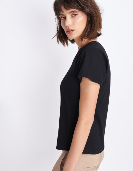T-shirt Tim - BLACK