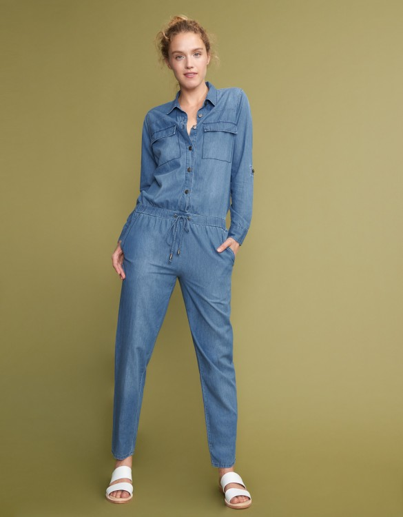 Combinaison Laureen Denim - LIGHT BLUE