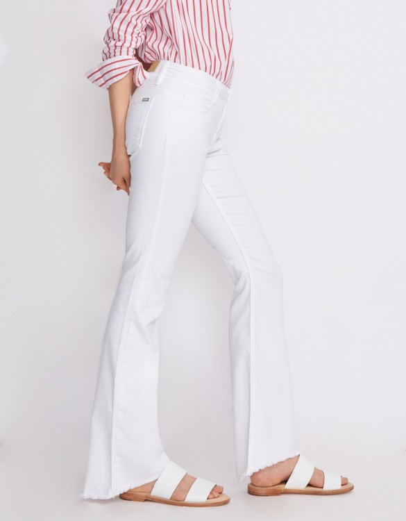 Jean flare Mia - DENIM WHITE