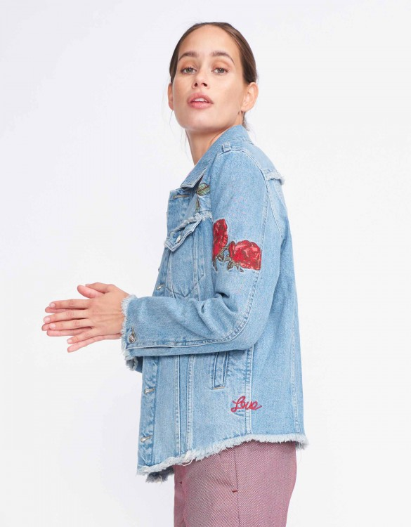 Veste en jean Venus - DENIM EMBROIDERED