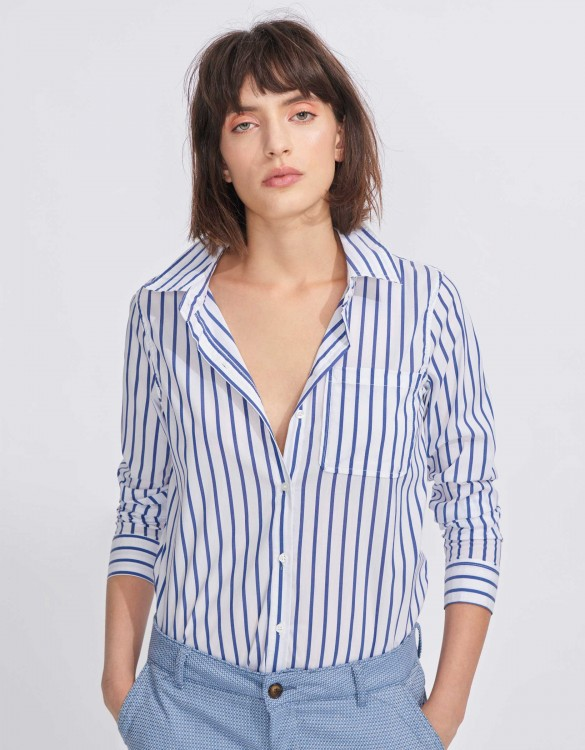 Shirt Carl Stripes - NAVY
