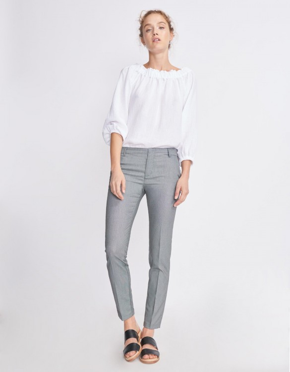 Pantalon cigarette Lizzy Fancy - HONEY