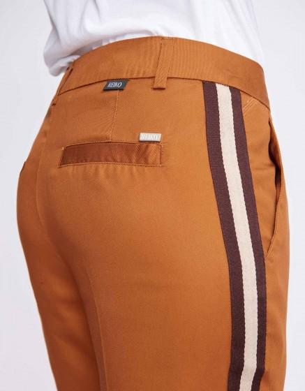 Pantalon cigarette Lizzy Herring - BROWN SUGAR