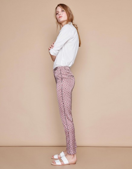 Trousers Lizzy Piping - NAUTICAL ROPE