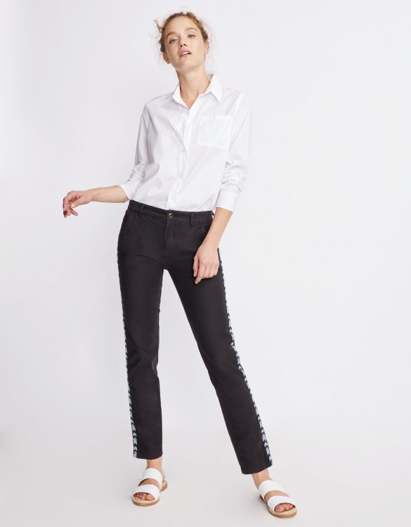 Chino Trousers Sandy Herring - CARBONE