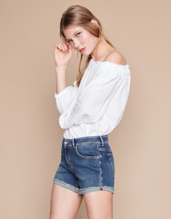 Denim short Taima - DENIM V-21