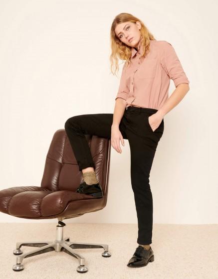 Pantalon chino Sandy 2 Basic - BLACK