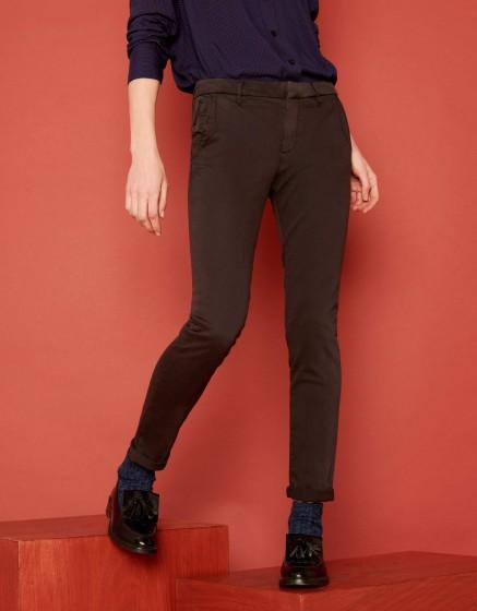 Pantalon chino Sandy 2 Basic - CARBONE