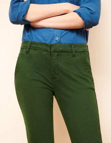 Pantalon chino Sandy 2 Basic - VERT FEUILLE