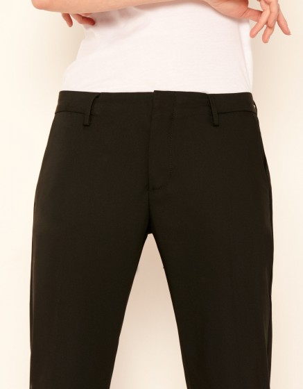 Cigarette Trouser Lou - BLACK