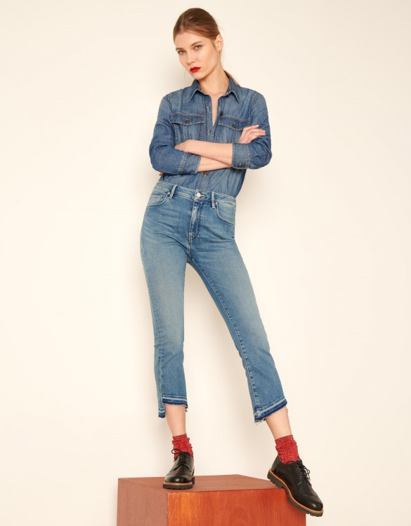 Jean straight cropped Lottie - DNM V-41