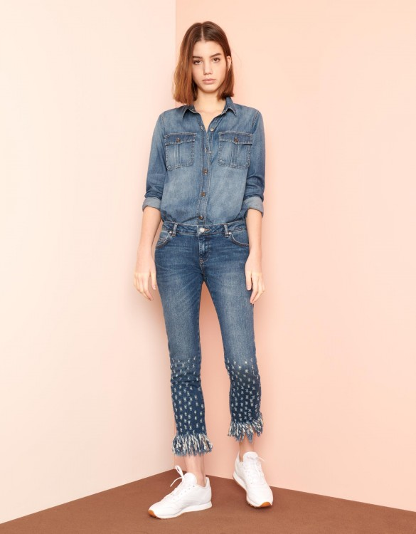 Straight cropped jean Perry - DNM M-79