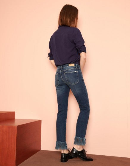 Jean straight cropped Perry - DNM V-52