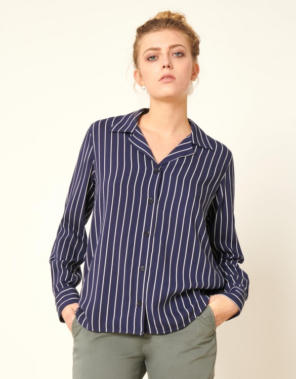 Chemise Clay Stripes - NAVY