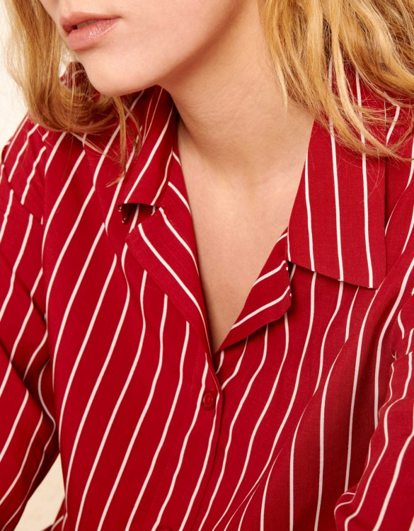 Chemise Clay Stripes - RUBY