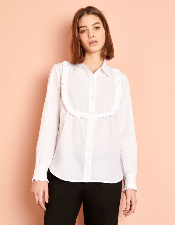 Shirt Cliff Color - WHITE