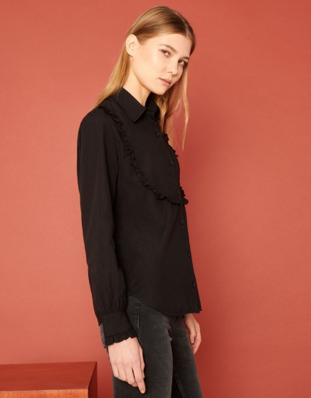 Chemise Cliff Color - BLACK