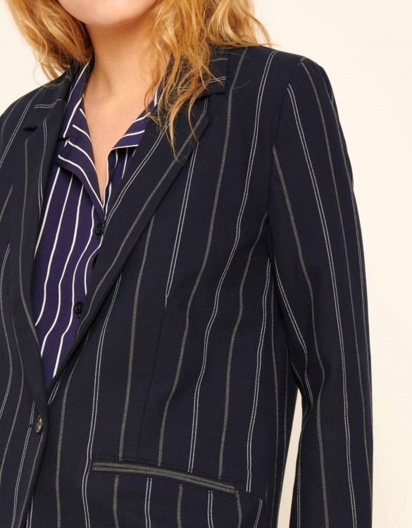 Blazer jacket Blair Fancy - NAVY STRIPED