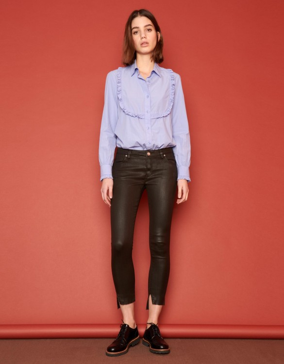 Skinny cropped jean Loren Enduction - CACHOU