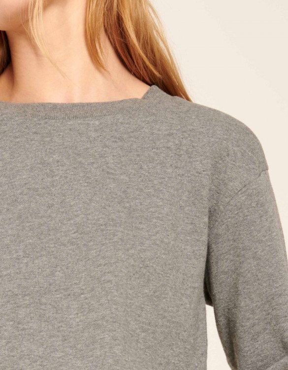 Sweat Soan Color - GRIS CHINE FONCE