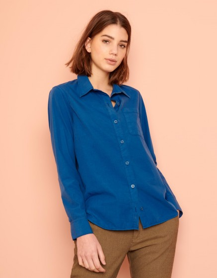 Shirt Carl Color - VICTORIAN BLUE
