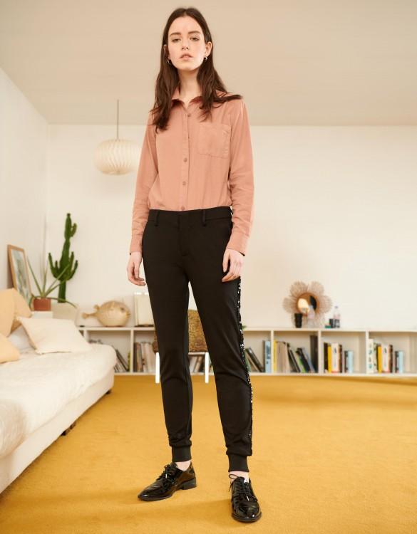 Trousers Street Lydie - BLACK