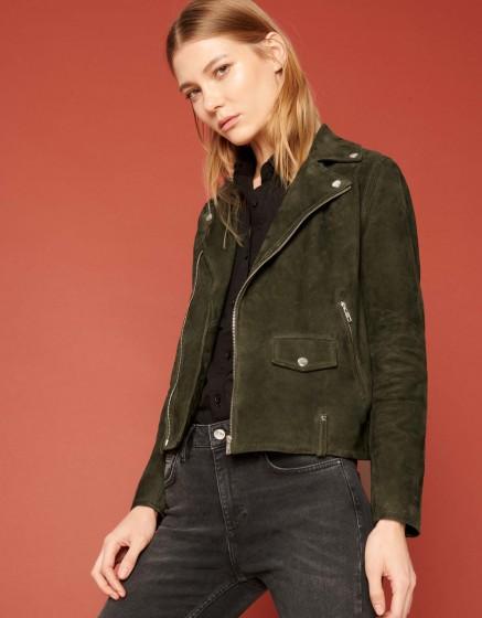 Perfecto jacket Pacey - VERT DE CHROME
