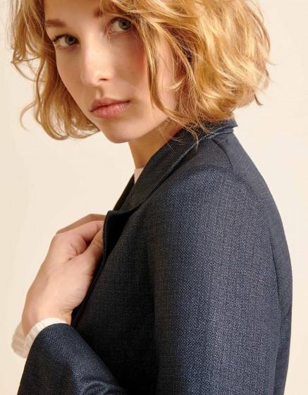 Veste blazer Blair Fancy - METALLIC BLUE