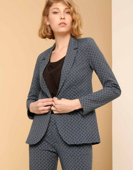 Veste blazer Blair Fancy - NAVY FLOW