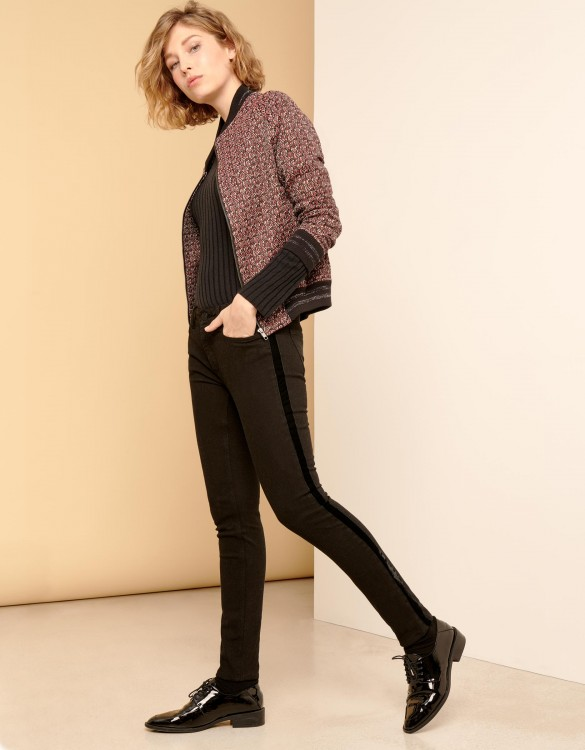 Jean skinny Nelly Herring - VELVET DNM BLACK