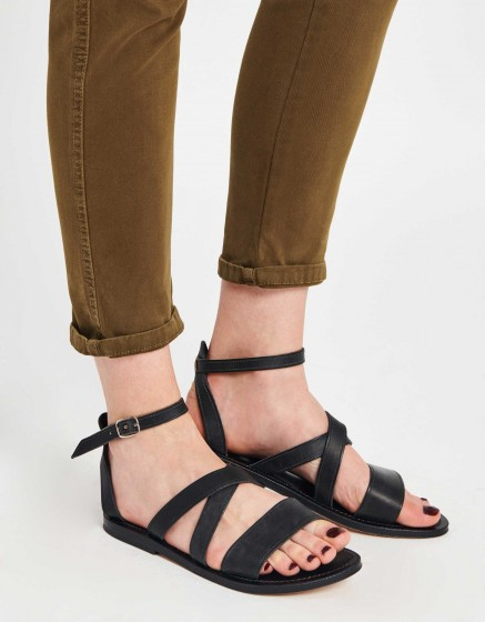 Chino tapered Trousers Scott - VINTAGE KAKI