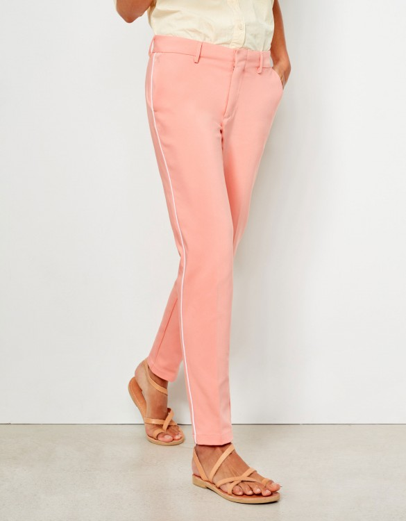 Pantalon Cigarette Lizzy Color - SORBET PIPING