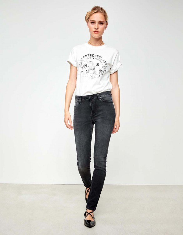 High waist jean Arnel - DNM BL-13
