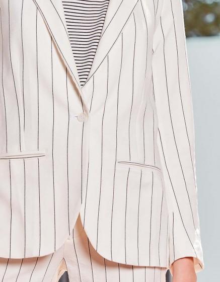 Veste blazer Blair Fancy - WHITE STRIPED