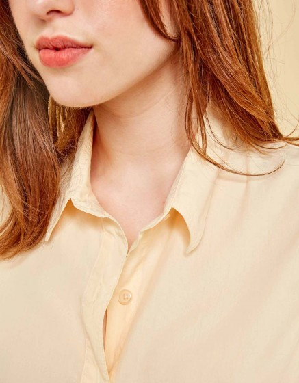 Chemise Carlo Color - VANILLE