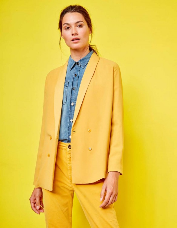 Blazer jacket Victoire - SUNFLOWER