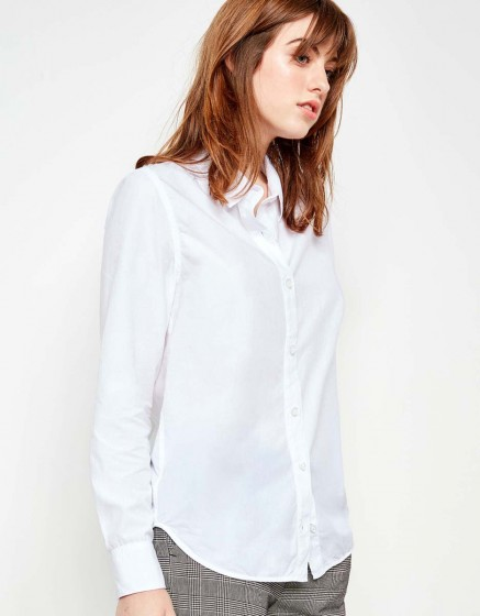 Chemise Carlo Color - WHITE