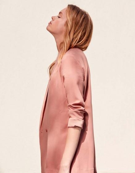 Blazer jacket Victoire - OLD ROSE