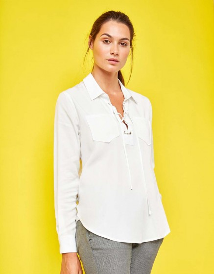 Chemise Caty Color - WHITE