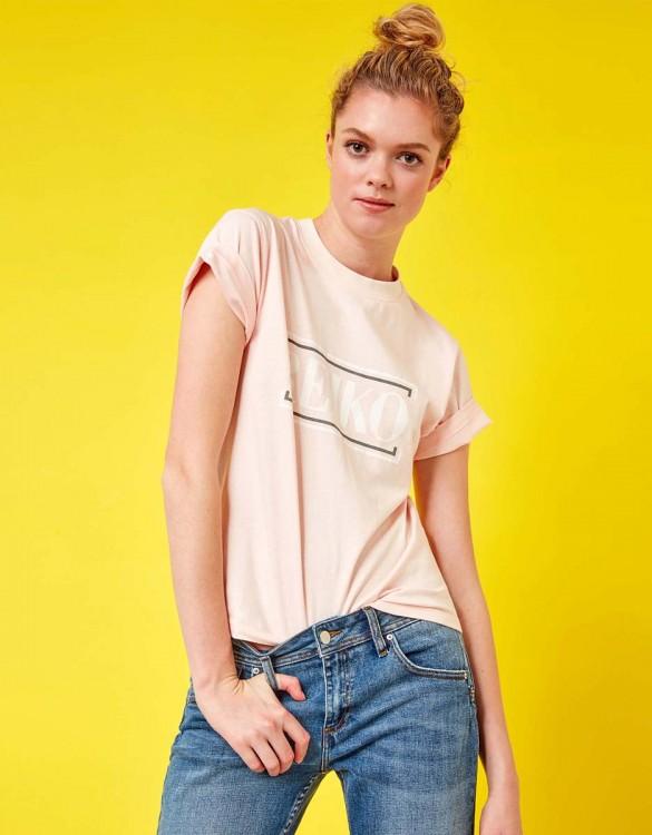 Tee-shirt Travis Brand - SWEET PINK