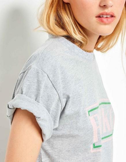 Tee-shirt Travis Brand - GRIS CHINE